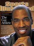Jason Collins on the cover of a recent Sports Illustrated.
