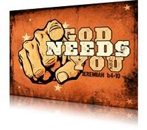 Image result for god needs you